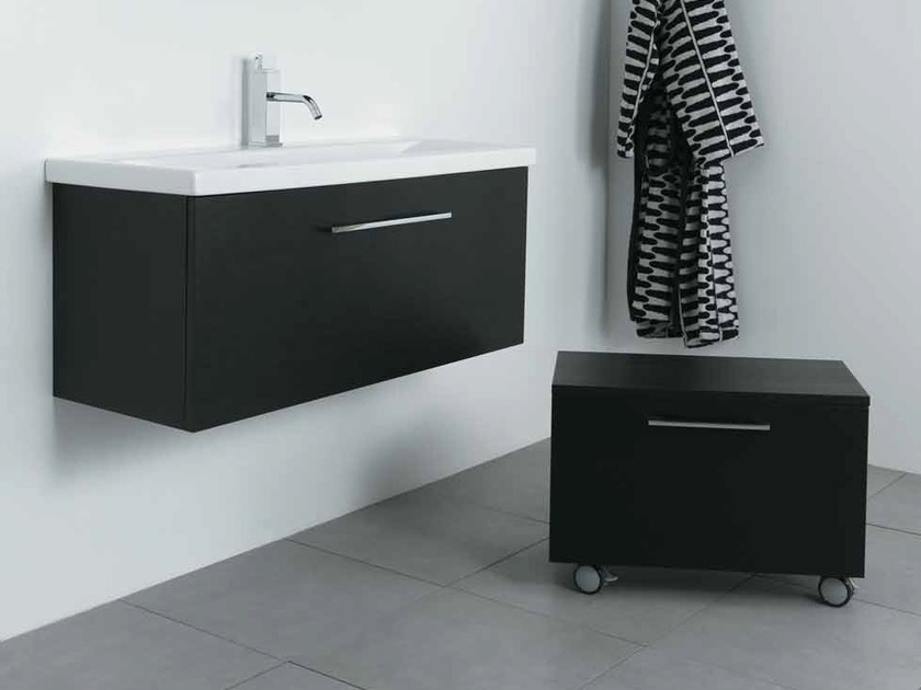 Wall-mounted vanity unit with drawers K100 by Mastro Fiore