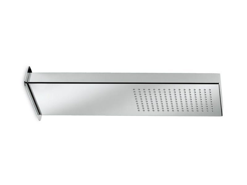Wall-mounted chrome-plated rain shower LIBERA | Overhead shower by newform