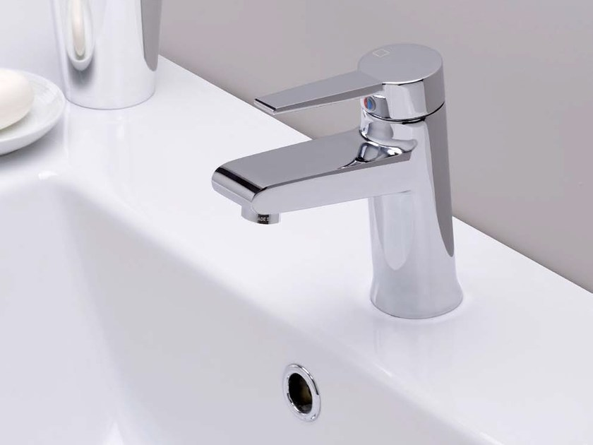 Countertop single handle 1 hole washbasin mixer EUROMADE® | Washbasin mixer by CRISTINA