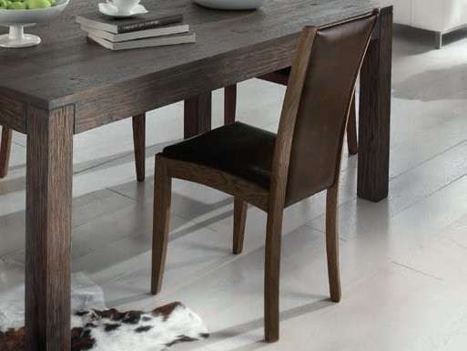 Leather chair VIVA | Chair by Domus Arte