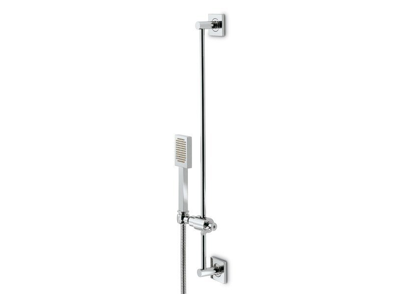 Shower wallbar with hand shower with hose FORMA | Shower wallbar by newform