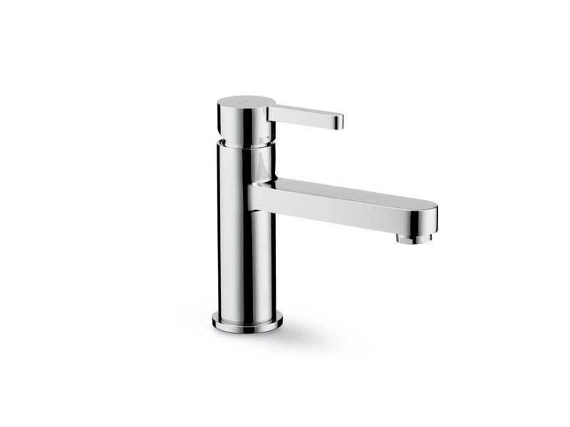 Countertop single handle washbasin mixer without waste ERGO   Countertop washbasin mixer by newform