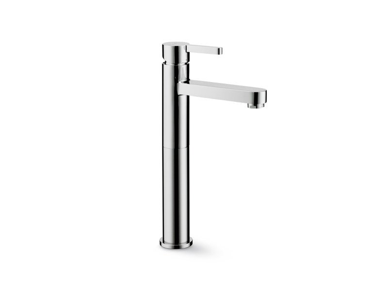 Countertop single handle washbasin mixer without waste ERGO | Countertop washbasin mixer by newform