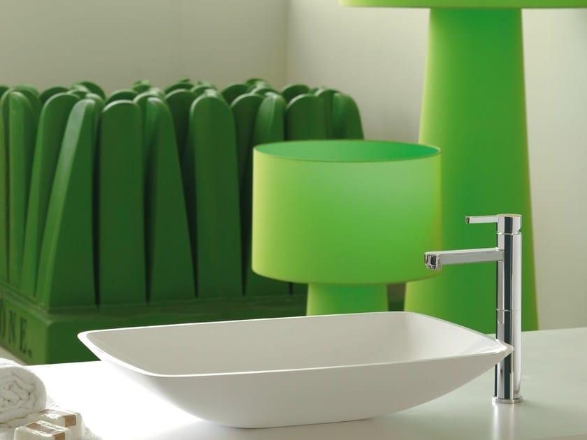 Miscelatore per lavabo da piano monocomando ERGO | Miscelatore per lavabo da piano by newform
