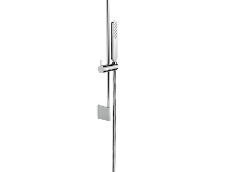 Shower wallbar with hand shower with hose ERGO | Shower wallbar by newform