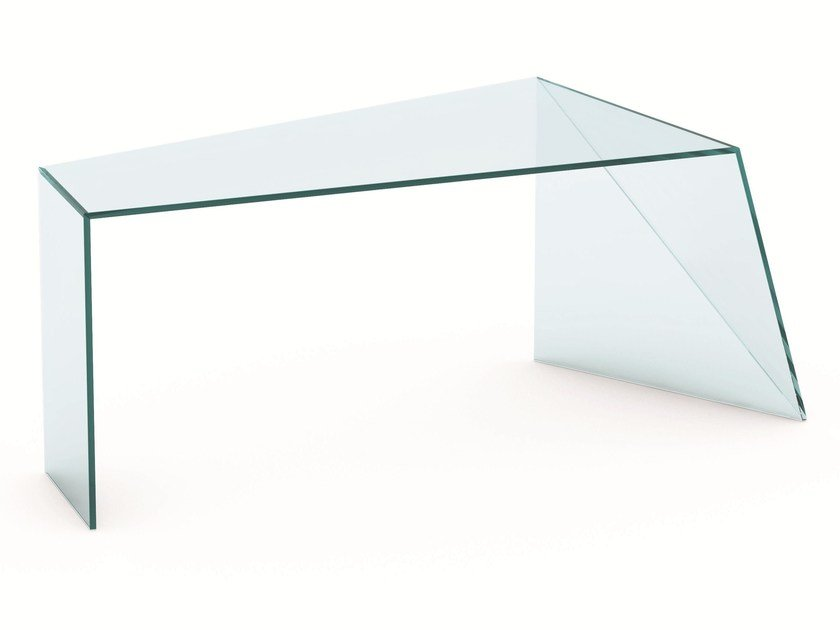 Crystal writing desk PENROSE | Writing desk by Tonelli Design