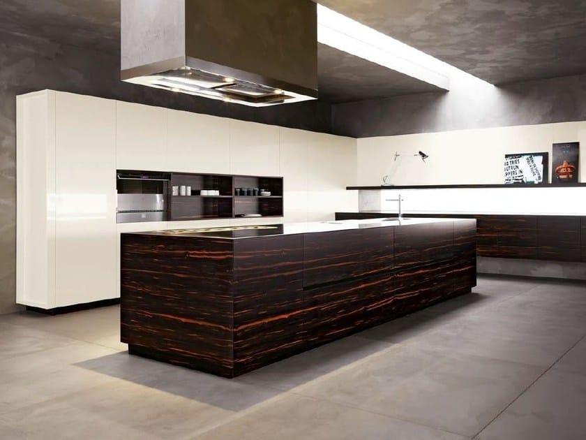 Ebony kitchen ELLE VIP - COMPOSITION 3 by Cesar Arredamenti