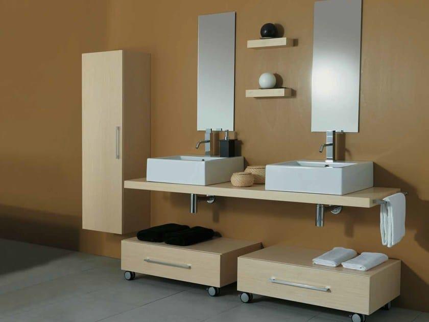 Bathroom furniture set 10   Bathroom furniture set by Mastro Fiore