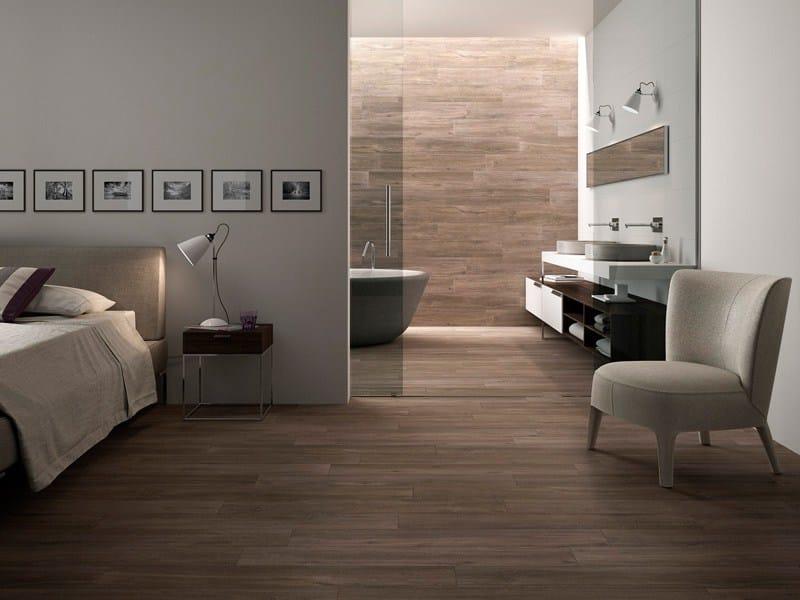 Revestimiento de pared suelo de gres porcel nico esmaltado Revestimiento pared imitacion madera