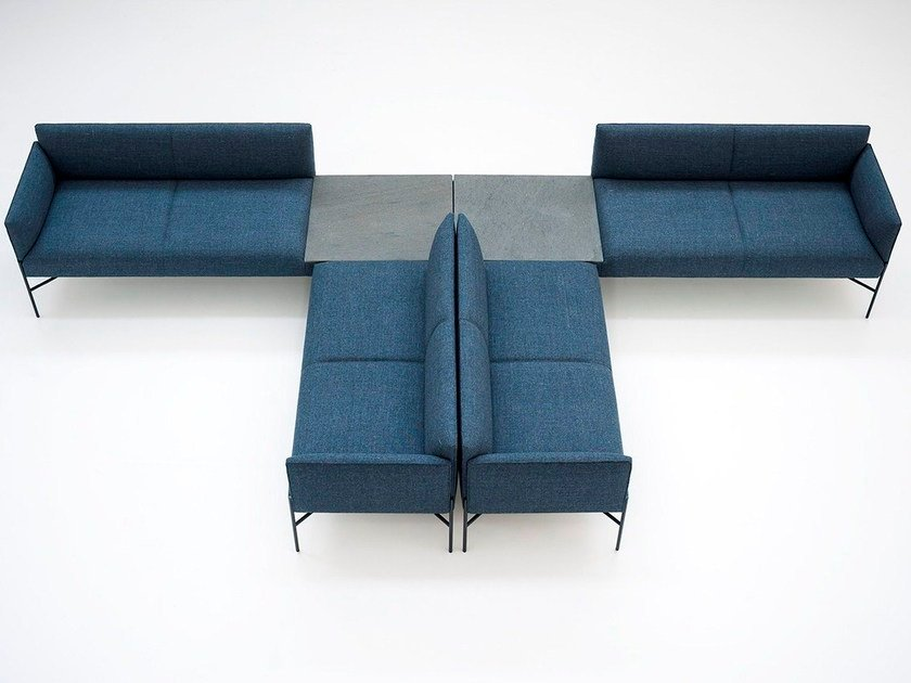 Sectional fabric sofa CHILL-OUT | Sectional sofa by Tacchini