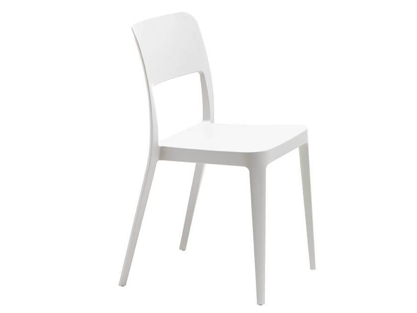 Stackable polypropylene chair NENÈ S | Chair by Midj