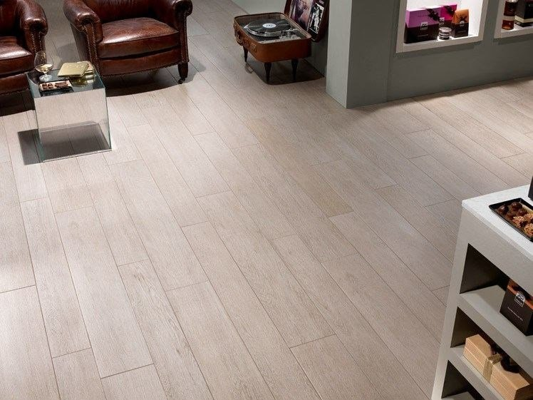 Porcelain stoneware flooring with wood effect DOGHE DI QUERCIA by Panaria Ceramica