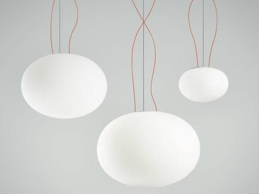 LED metal pendant lamp GILBERT | Pendant lamp by PANZERI