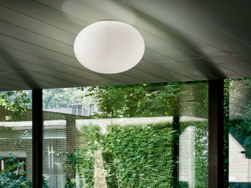 LED metal ceiling light GILBERT | Ceiling light by PANZERI