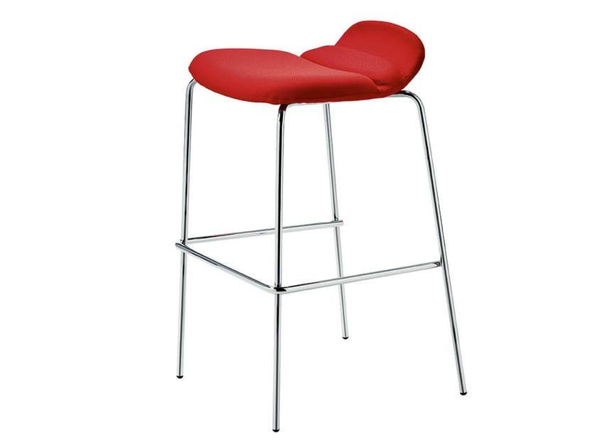Upholstered stool ITALIA | Stool by Midj