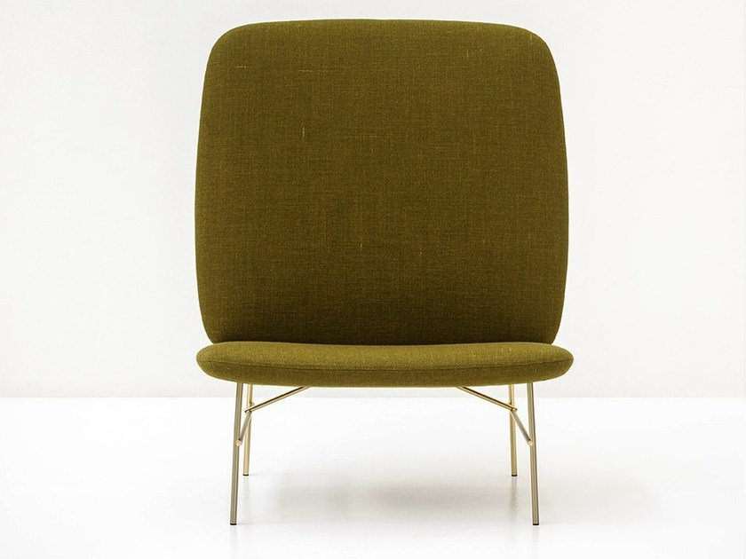 Upholstered armchair KELLY H by Tacchini