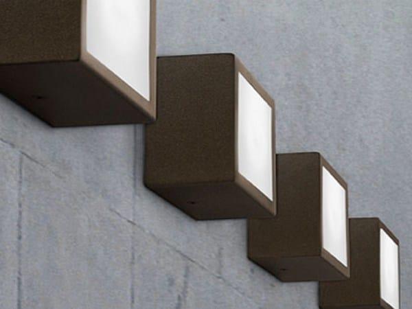 LED aluminium wall lamp FOUR   Wall Lamp by PANZERI