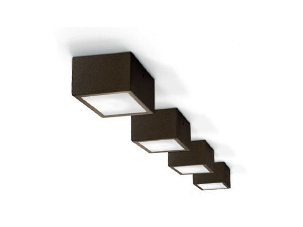 LED aluminium ceiling lamp FOUR | Ceiling lamp by PANZERI