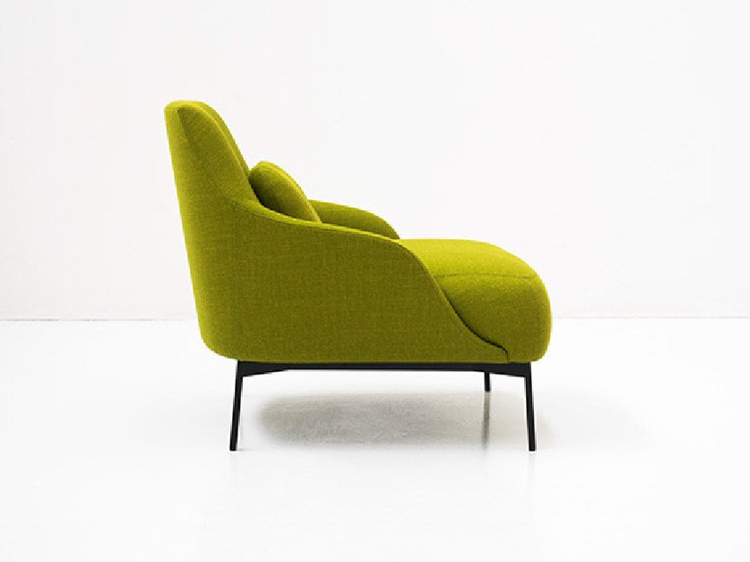 Upholstered fabric armchair LIMA | Armchair by Tacchini
