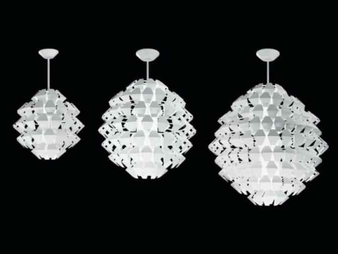 Metal pendant lamp AGAVE | Pendant lamp by PANZERI