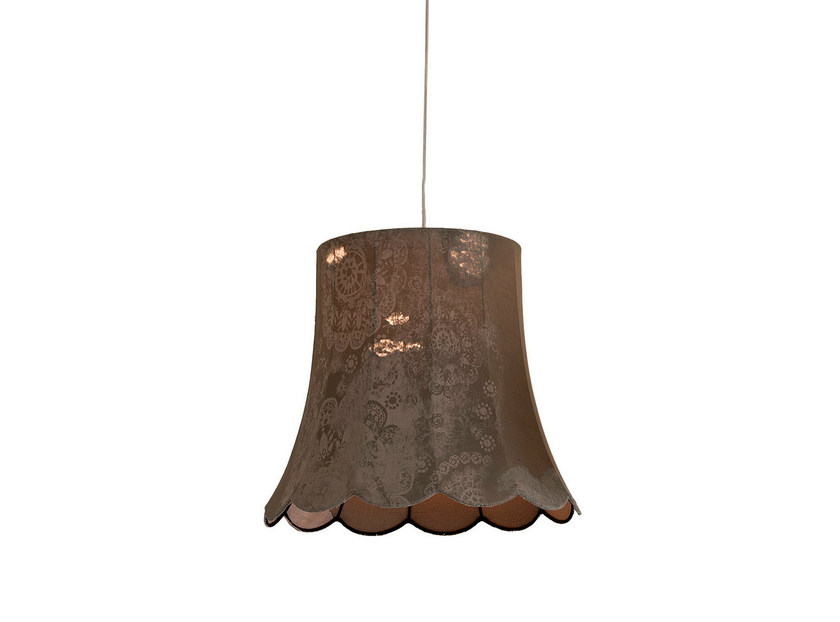 Denim fabric pendant lamp LIFE | Pendant lamp by Karman