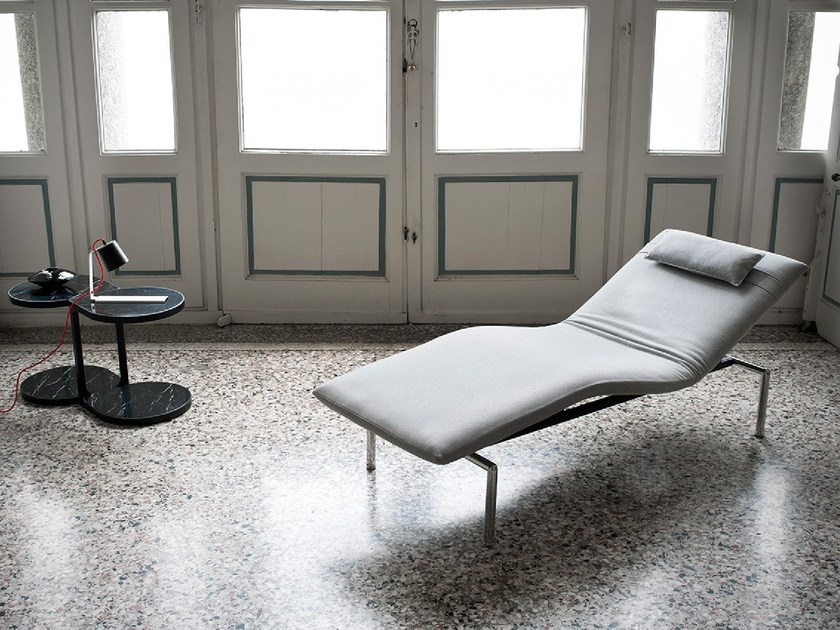Upholstered lounge chair PICK UP by Tacchini