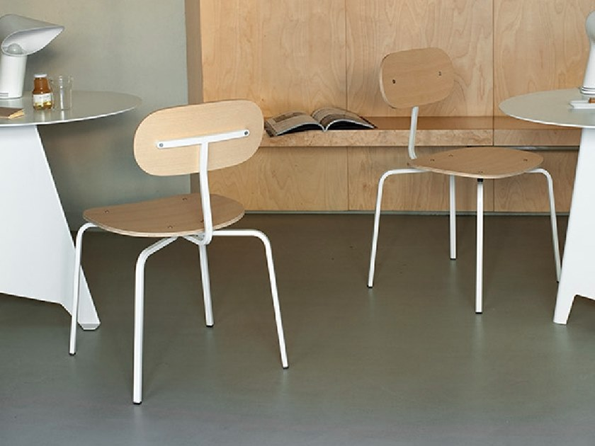 T–CHAIR | Stackable chair
