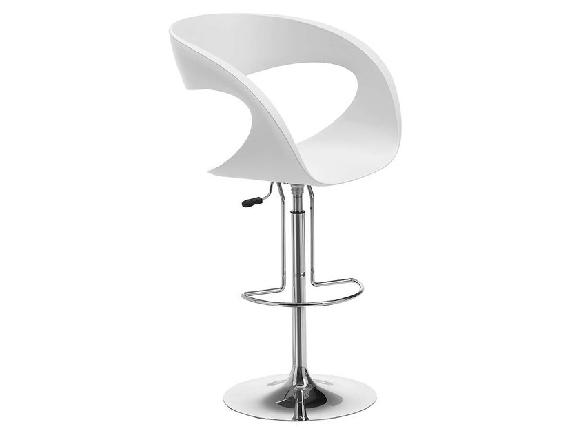 Swivel Baydur® chair RAFF | Stool by Midj
