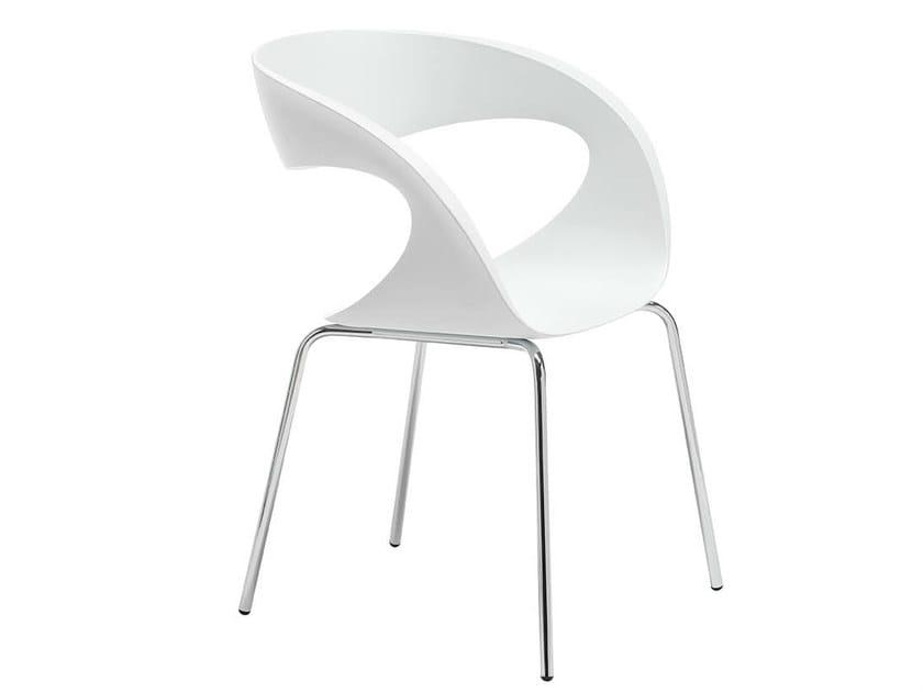 Baydur® waiting room chair RAFF S | Chair by Midj