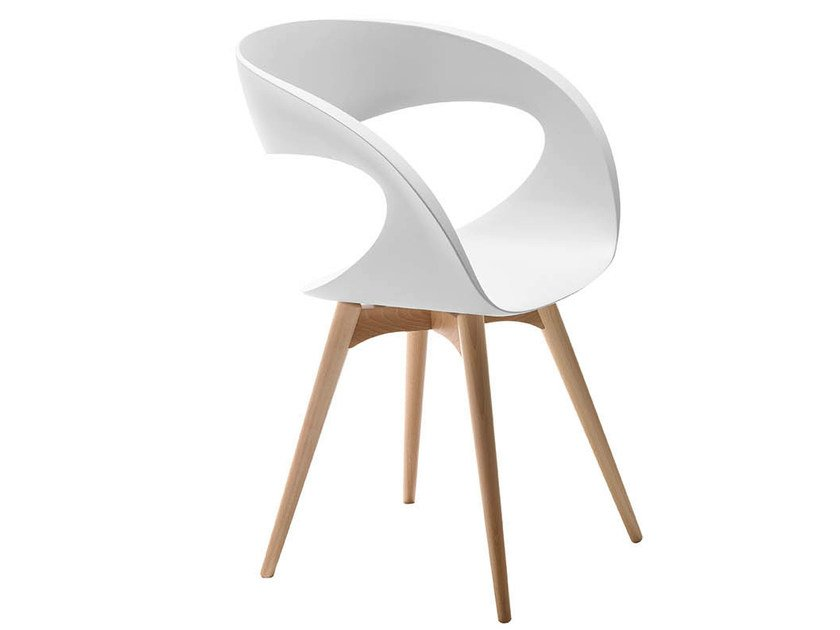 Wooden chair RAFF LG | Chair by Midj