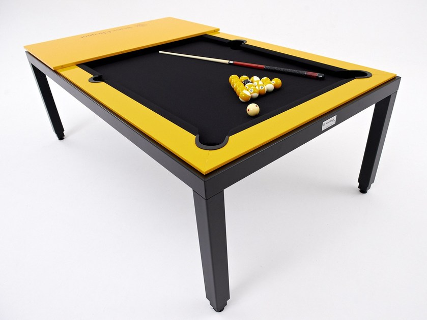 Metal pool table VEUVE CLICQUOT LIMITED EDITION by Fusiontables Saluc