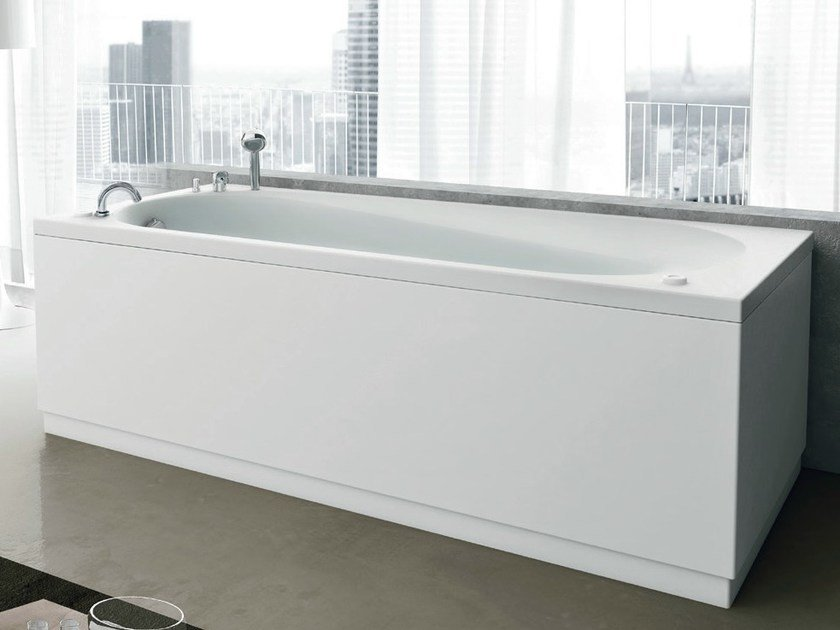 Whirlpool rectangular bathtub NOVA | Whirlpool bathtub by Gruppo Geromin