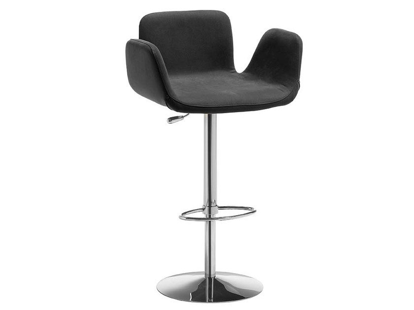High stool with armrests LIGHT | High stool by Midj