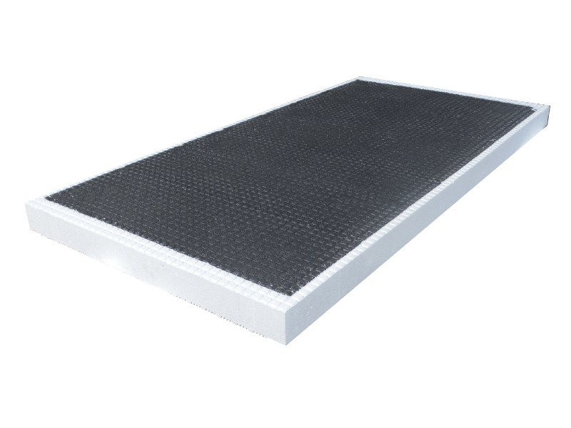 Graphite-enhanced EPS thermal insulation panel Graphite-enhanced EPS thermal insulation panel by EDINET
