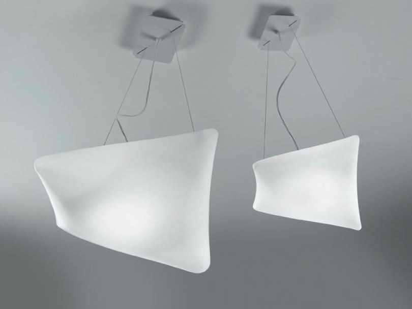 Blown glass pendant lamp DREAMY | Pendant lamp by PANZERI