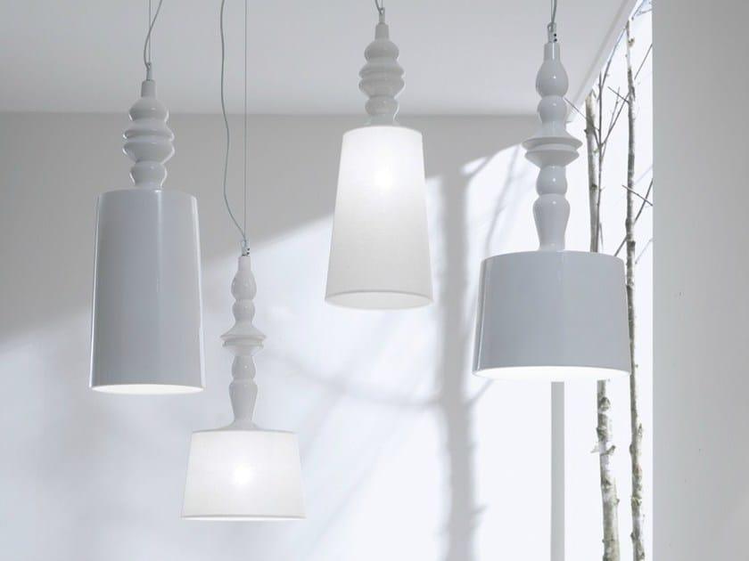 Lampada a sospensione in ceramica alÌ e babÀ lampada a