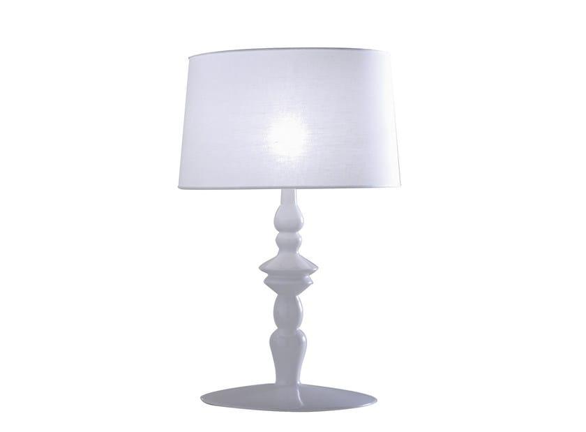Ceramic table lamp ALÌ E BABÀ | Table lamp by Karman