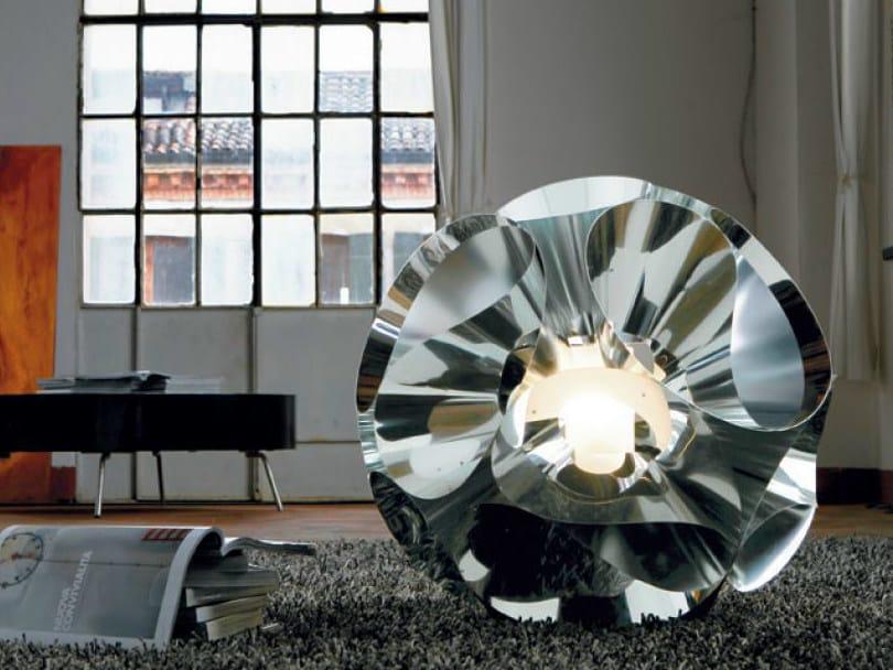 Aluminium table lamp FLORAL | Table lamp by PANZERI