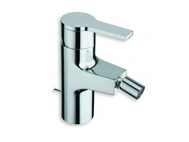 Chrome-plated single handle bidet mixer DIARIO | Bidet mixer by CRISTINA