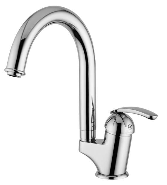 Countertop single handle washbasin mixer KOMETA | Countertop washbasin mixer by Rubinetteria Giulini