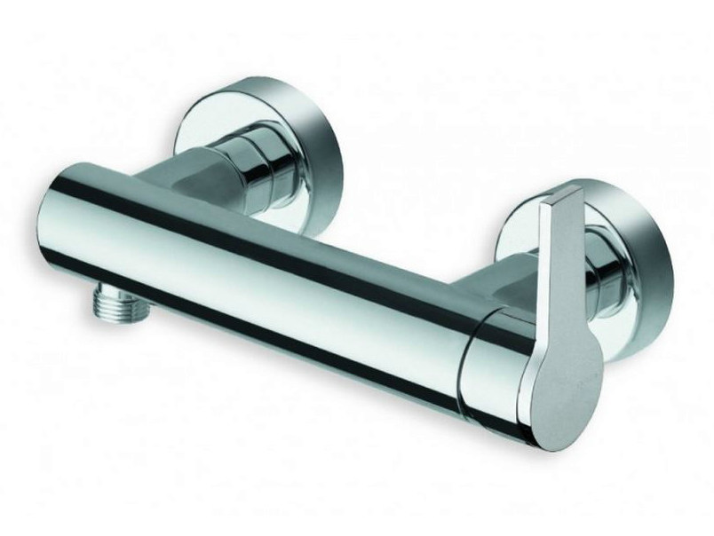 Chrome-plated single handle shower mixer DIARIO | Shower mixer by CRISTINA