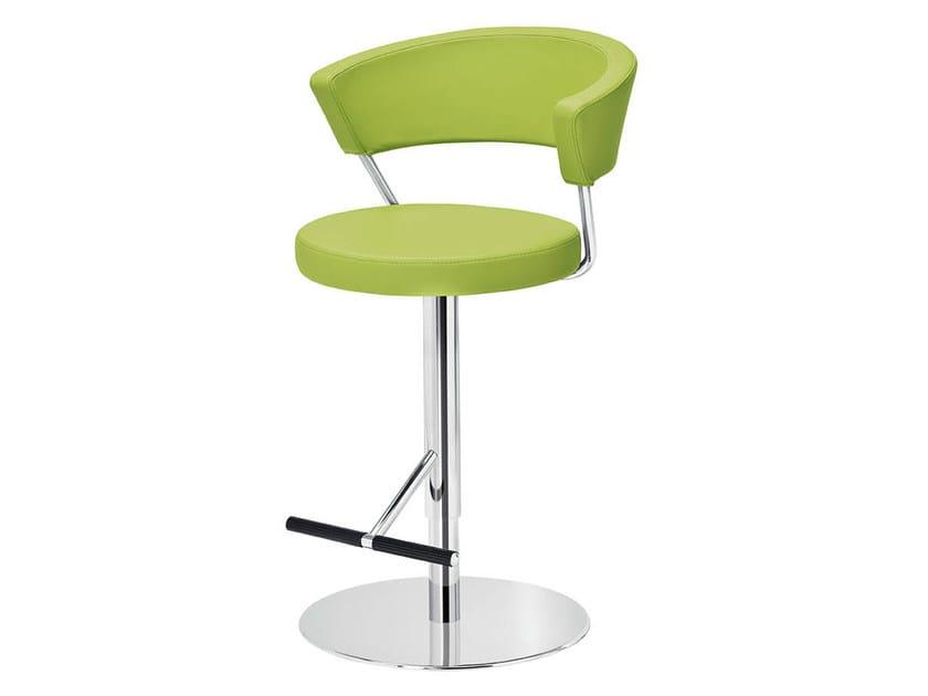 Upholstered stool PRINZ | Upholstered stool by Midj