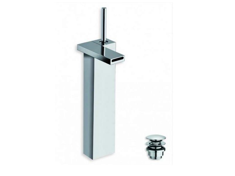 Chrome-plated countertop washbasin mixer MODUL | Washbasin mixer by CRISTINA