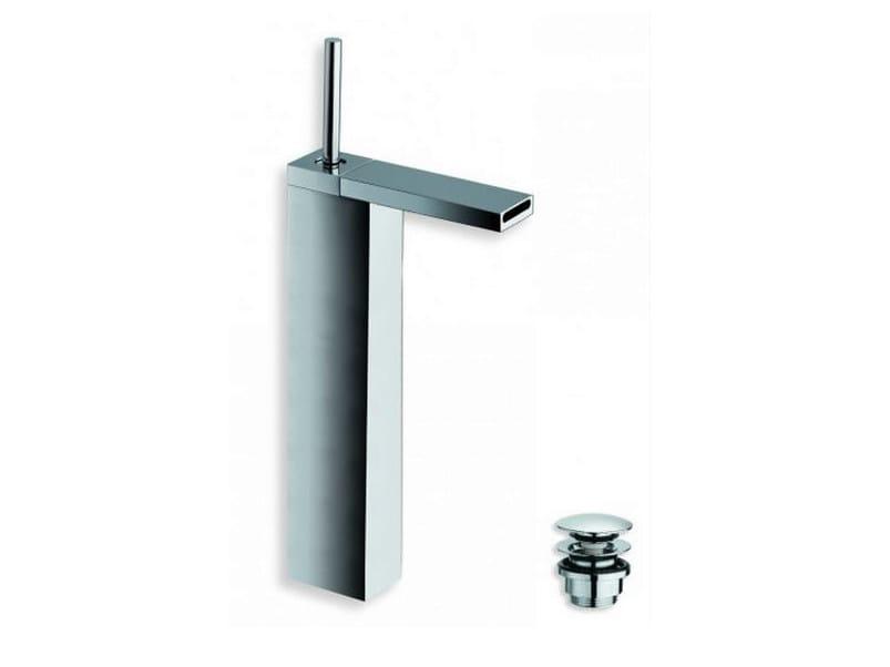 Chrome-plated countertop washbasin mixer MODUL | Single handle washbasin mixer by CRISTINA