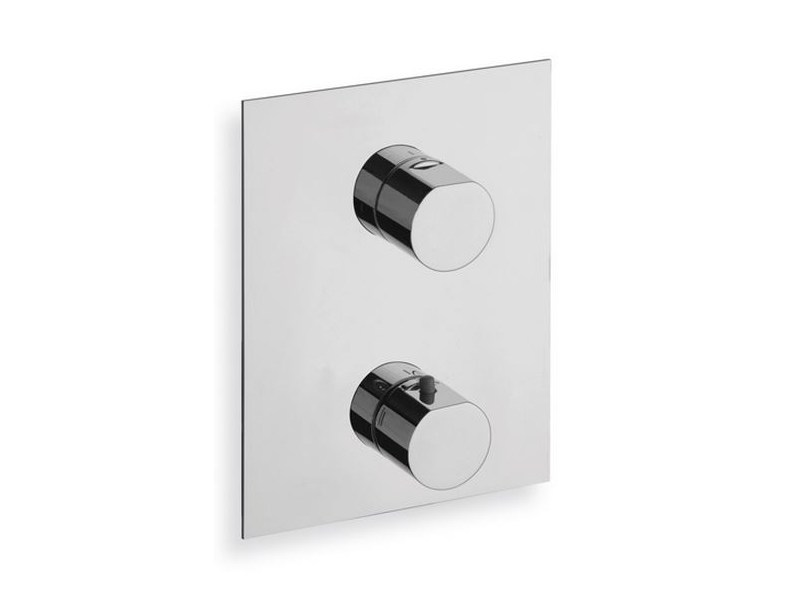 Chrome-plated thermostatic shower mixer MODUL | Thermostatic shower mixer by CRISTINA