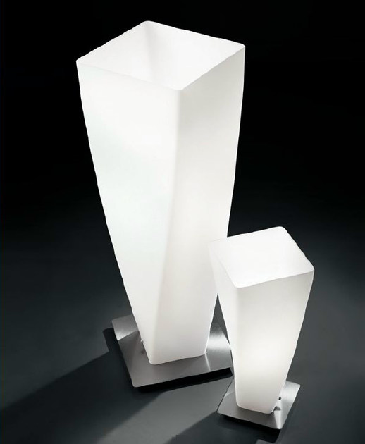 Blown glass table lamp SPYRA | Table lamp by PANZERI