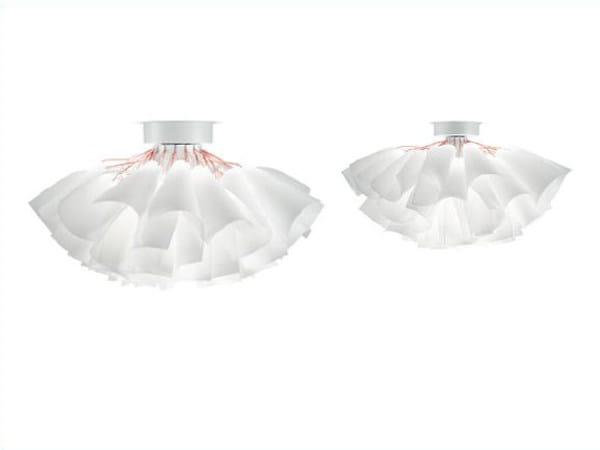 Lampada da soffitto in carta giapponese TUTU | Lampada da soffitto by PANZERI