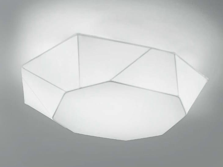 Plafoniera Tessuto : Viki plafoniera by panzeri