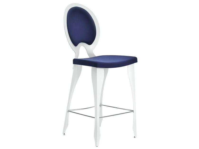 High upholstered stool REVOLUTION | Upholstered stool by Midj