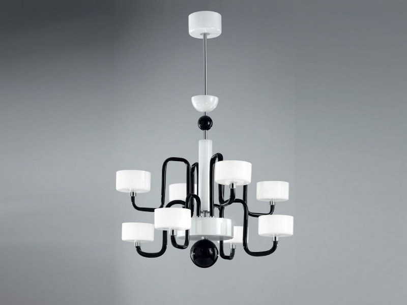 Murano glass chandelier GUGGENHEIM | Chandelier by PANZERI
